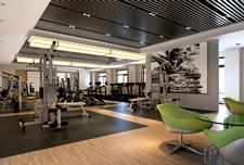 北京师范大学校内健身房